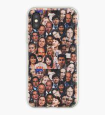 Vinilo o funda para iPhone La oficina se enfrenta al collage