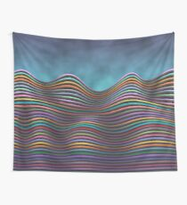The Rolling Hills Of Subtle Differences Wall Tapestry