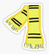 house scarf Sticker