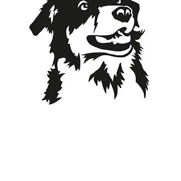 Australian Shepherd Shirt - Gift For Dog Lovers by Galvanized