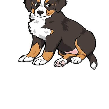 Cute Bernese Mountain Dog Shirt - Gift For Dog Lovers by Galvanized