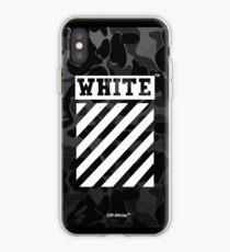 Off-White Bape Camo Black iPhone Case