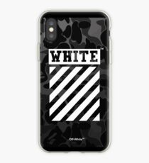 Off-White Bape Camo Black iPhone Case