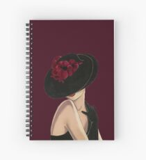 classy lady Spiral Notebook