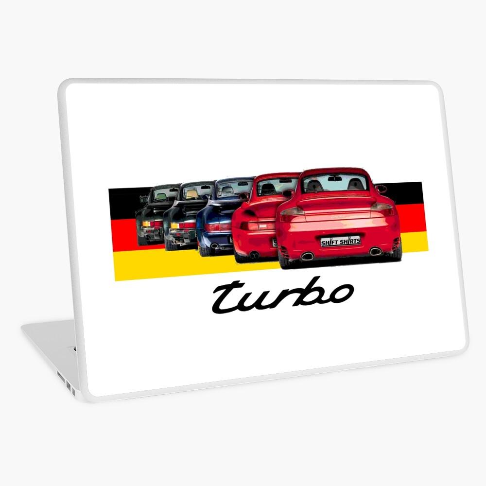 Shift Shirts Turbo Generations – 911 Turbo Inspired Laptop Skin