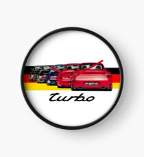 Shift Shirts Turbo Generations – 911 Turbo Inspired Clock
