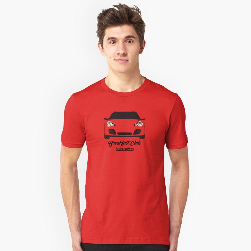 Shift Shirts Breakfast Club – 996 Turbo Inspired Unisex T-Shirt Front