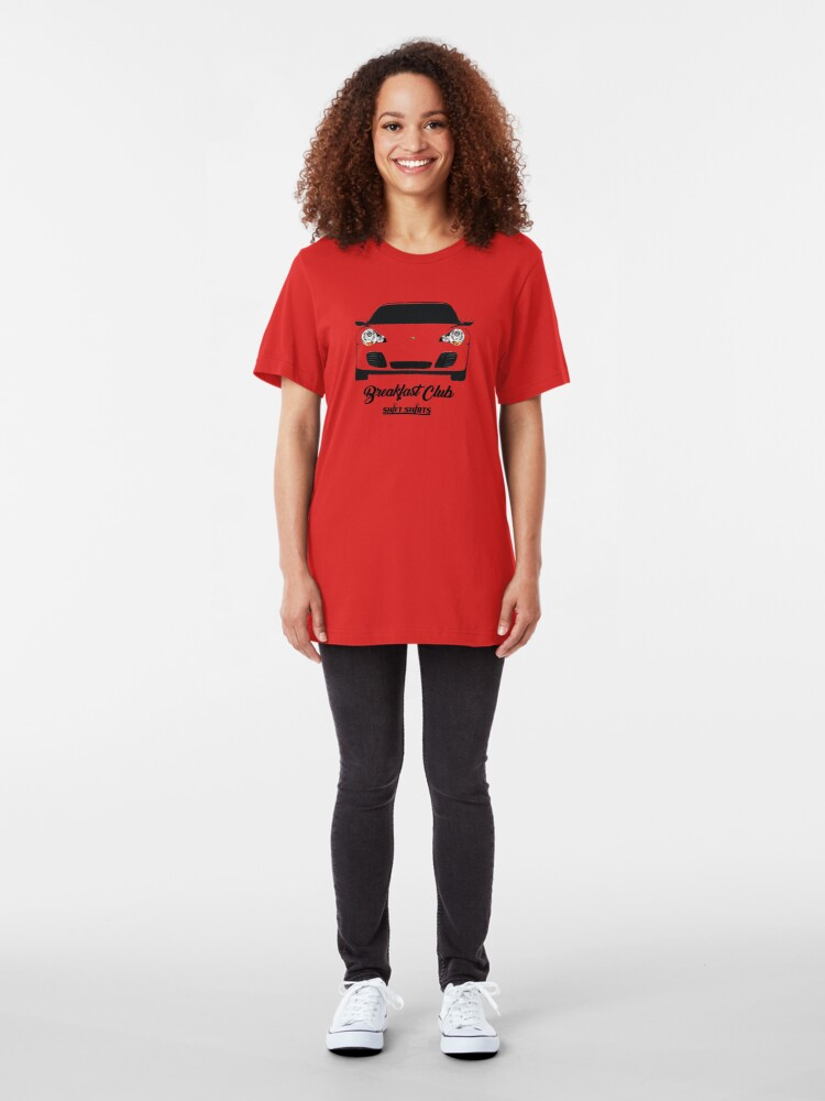 Alternate view of Shift Shirts Breakfast Club – 996 Turbo Inspired Slim Fit T-Shirt