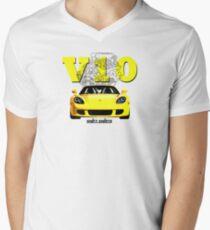 Shift Shirts V10 Music - Carrera GT Inspired Men's V-Neck T-Shirt