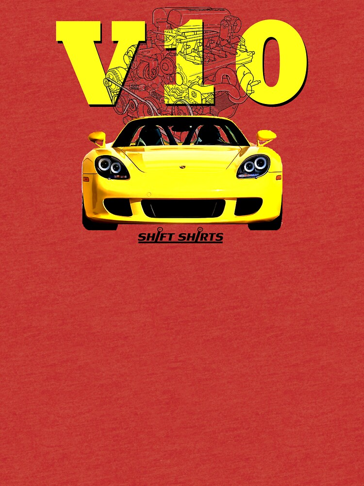 Shift Shirts V10 Music - Carrera GT Inspired by ShiftShirts