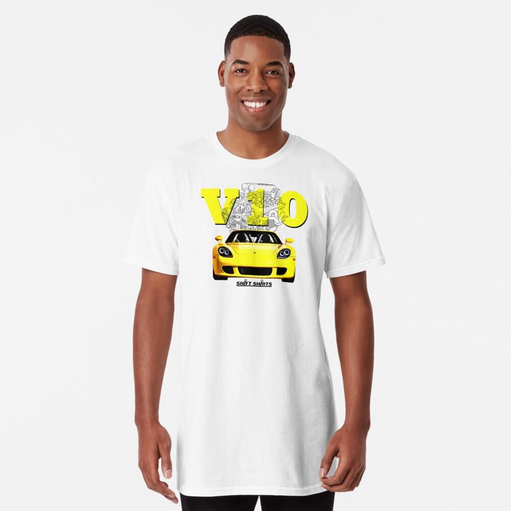 Shift Shirts V10 Music - Carrera GT Inspired Long T-Shirt