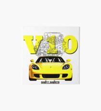 Shift Shirts V10 Music - Carrera GT Inspired Art Board