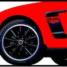 Shift Shirts Modern Muscle - Ford Mustang Boss 302 Inspired by ShiftShirts
