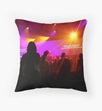 Amplified 02 Throw Pillow