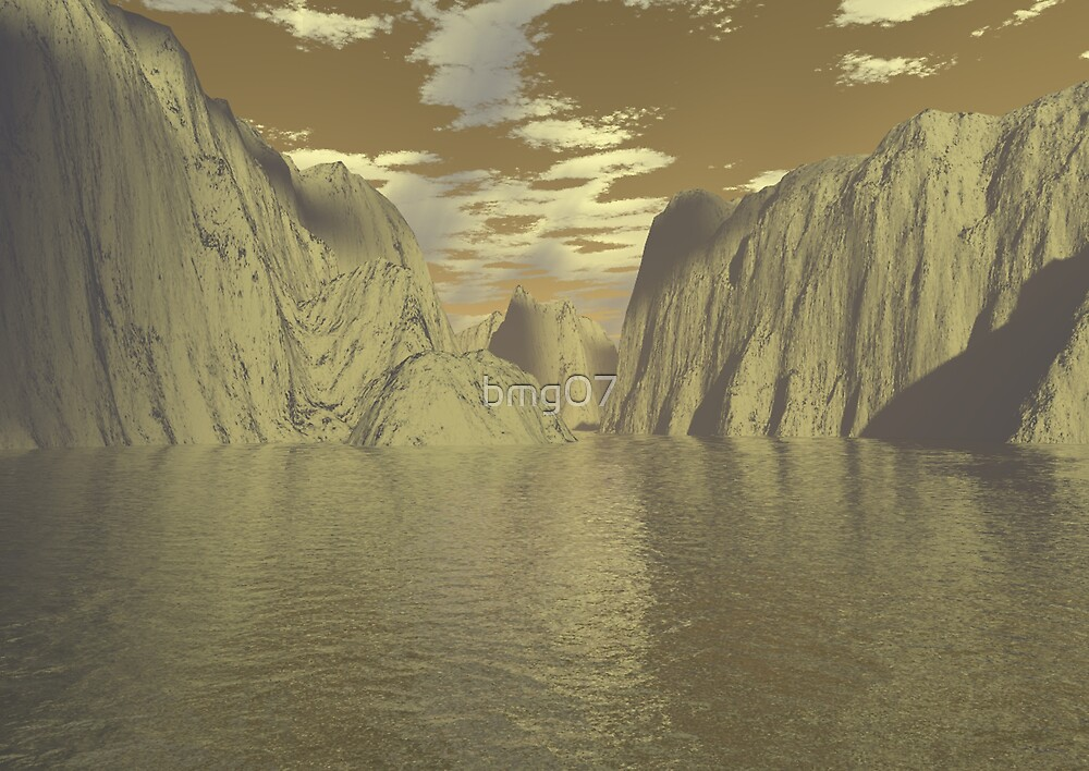 3d landscape by bmg07