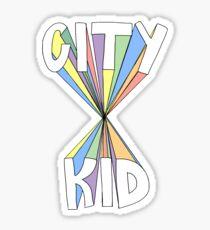 City Kid Sticker