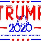 Trump 2020 Funny Custom T-shirts by EthosWear