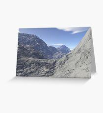Mountainous landscape Greeting Card