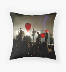 Amplified 04 Throw Pillow