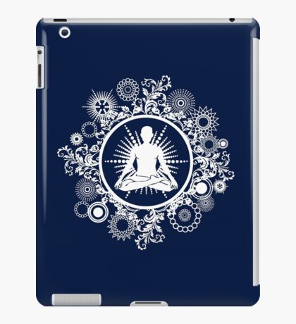 Inner Being - white silhouette iPad Case/Skin