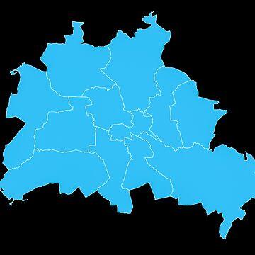 Berlin Map by metropol