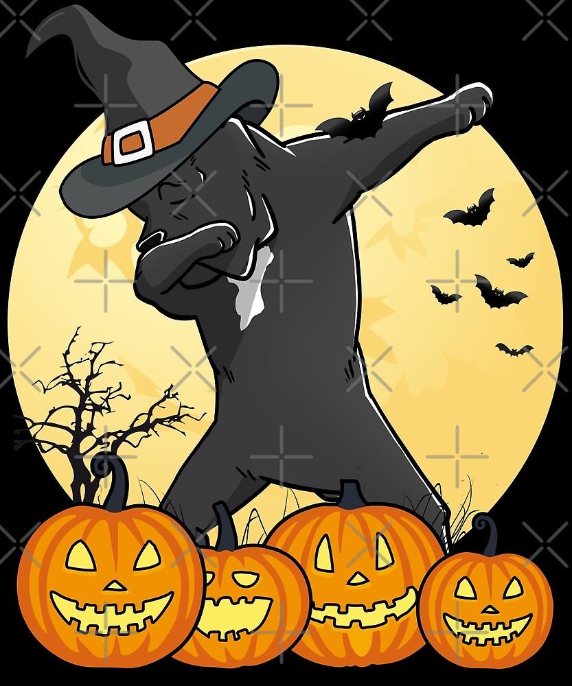 dabbing cane corso halloween dab dance