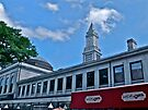 """Quincy Market, Sam's Cafe at Cheers"" - Summer in Boston Series - © 2009 by Jack McCabe"