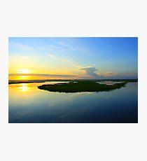 Sunset over the Horizon Photographic Print