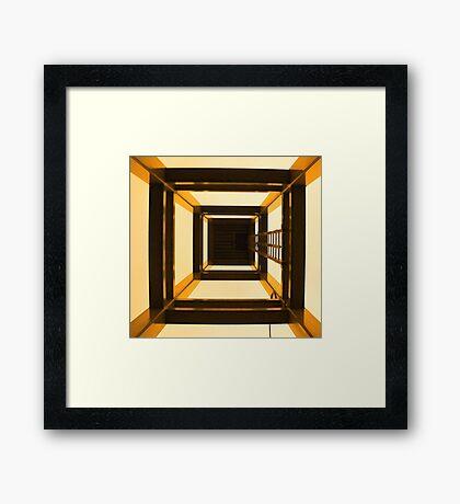 Inside The Tower Framed Print
