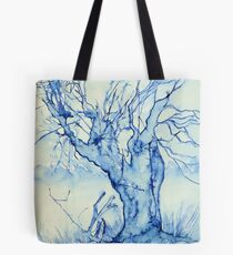 A tree in the veld Tote Bag