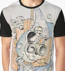 Space Business Graphic T-Shirt