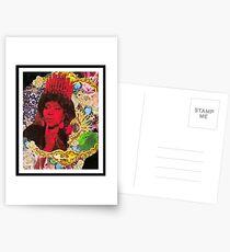 QUEEN ARETHA -BLACK BORDER Postcards