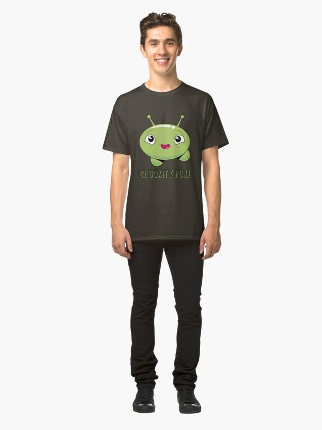 Vista alternativa de Camiseta clásica Mooncake Chookity