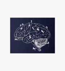 Climbing On The Brain Art Board