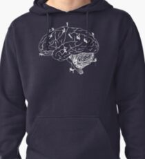 Climbing On The Brain Pullover Hoodie