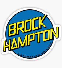 BROCKHAMPTON X SANTA CRUZ Sticker