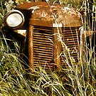 Rusted Tractor Grill by sundawg7