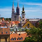 View of Zagreb, Croatia by Rae Tucker