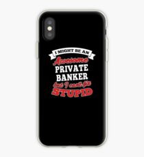 PRIVATE BANKER T-shirts, i-Phone Cases, Hoodies, & Merchandises iPhone Case