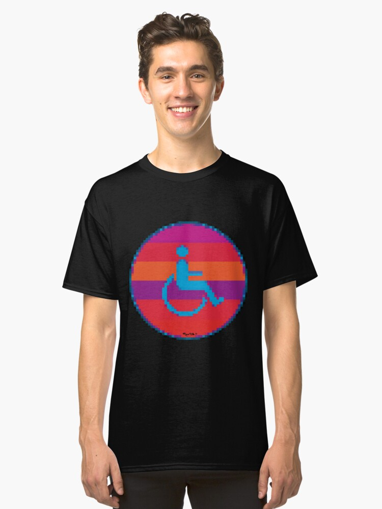 Handicap and singularity 6/99 Classic T-Shirt Front