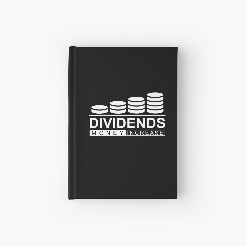 Dividends Money Increase Geld Dividende Aktien Notizbuch
