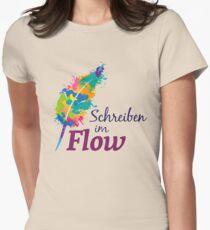 Schreibrausch - Schreiben im Flow Tailliertes T-Shirt für Frauen
