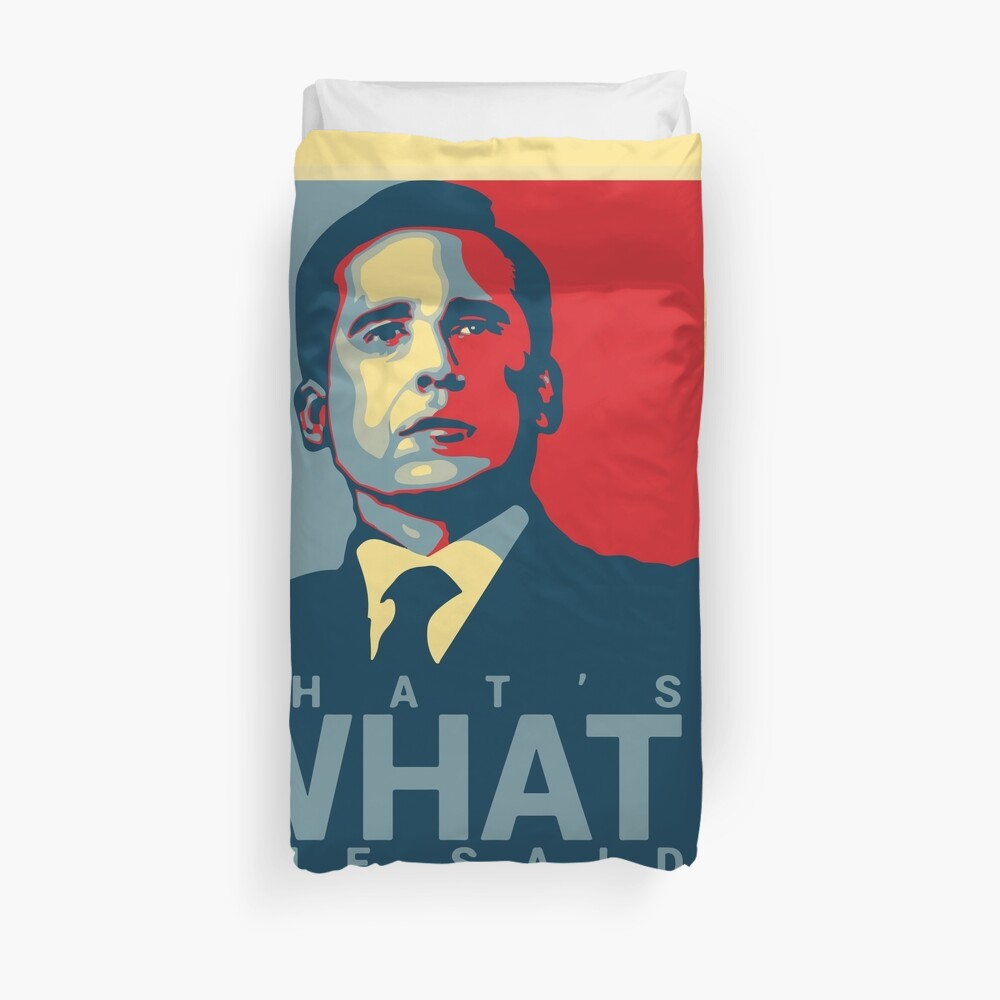 That's What She Said - Michael Scott - The Office US Duvet Cover