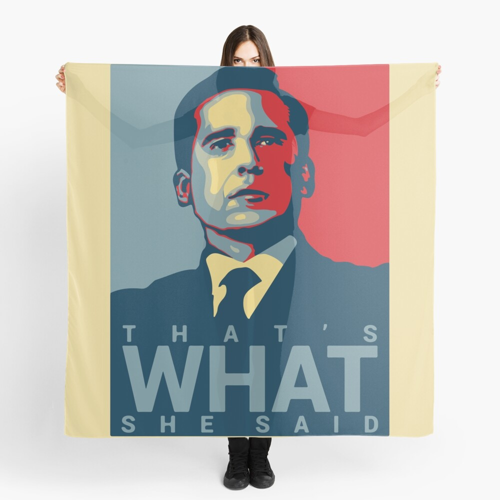 That's What She Said - Michael Scott - The Office US Scarf