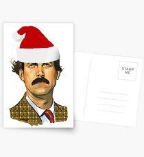Basil Fawlty Christmas Postcards