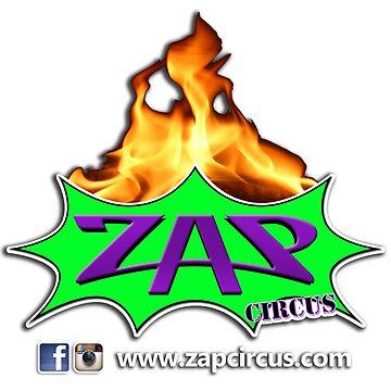 Zap Scarf by zapcircus