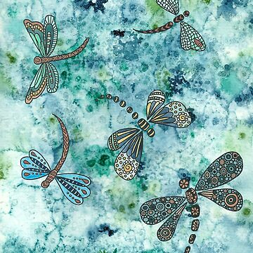 dragonflies by Azyrielle
