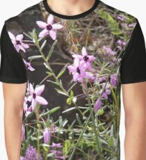 Stars Come Out - Australian pink flower Graphic T-Shirt