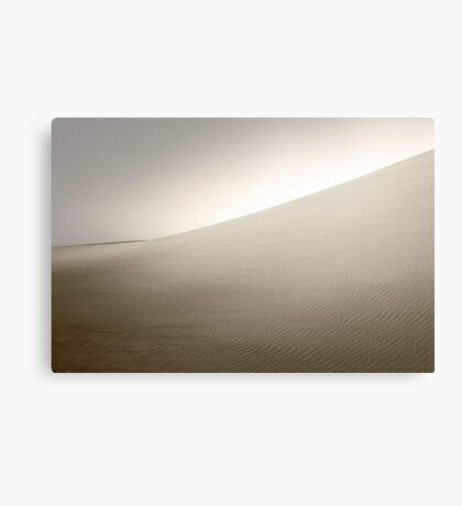 Dusk At The Dunes  Canvas Print
