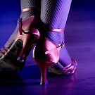 Feet woman dancing by GemaIbarra